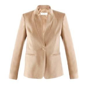 MAX MARA Beige Camel Hair Jacket Coat  6